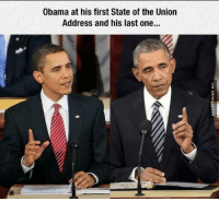 Being The President Is Stressful http://www.damnlol.com/being-the-president-is-stressful-105317.html: Obama at his first State of the Union  Address and his last one... Being The President Is Stressful http://www.damnlol.com/being-the-president-is-stressful-105317.html