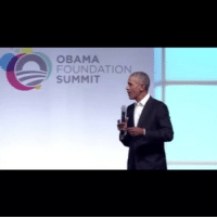 Memes, Obama, and Trump: OBAMA  FOUNDATION  SUMMIT Former President BarackObama trolls Trump who went on for years that Obama was not born in the USA... trumpbeenafool