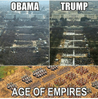 Funny, Halo, and Lol: OBAMA  TRUMP  1. 1  AGE OF EMPIRES That's quite the army! @gamingplus2 . . . gaming gamer games videogames cod gta csgo minecraft starwars marvel xbox playstation nintendo nerd geek leagueoflegends pc youtube lol fun funny dc dota2 game dccomics battlefield steam halo blizzard