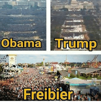 Memes, Obama, and Trump: Obama Trump  Freibier Freibier ComedyNobelpreis