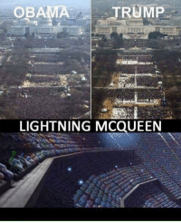 Memes, 🤖, and Lightning McQueen: OBAMA TRUMP  LIGHTNING MCQUEEN