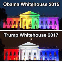 "All Lives Matter, America, and Black Lives Matter: Obama Whitehouse 2015  Trump Whitehouse 2017 What I don't understand about the left is their obvious resentment and reluctance to have pride in America. They constantly search for flaws, they want to be proud of anything possible before being proud of being American, including their sexuality that no one gives a fuck about, or their race, or gender or whatever the hell it may be, The right, at least speaking for myself and a majority of my followers just want to unify and identify as American. That is the most important part about our identity, we don't want to label people by race or sexuality we just want to unite as one American people, even if you're gay, the first thing you should be proud of and identify as, is being an American. If you have no respect for this country and all you want to do is bring up flaws that you can't change, why stay? I really don't get it, and that's what stumps every liberal in an arguement is if you don't like it why not just leave like you all said you would when trump won. Just go. If you don't love your country, then leave it. It's so simple. Why make everyone put up with your shit if you don't have to and don't want to be here. If you're not going to do anything to leave this ""horrible racist sexist homophobic"" country then just shut the fuck up already. Anyways, it's 3:30 am as I write this, night. ━━━━━━━━━━━━━━━━━━━━━━━━━━ Follow me 👉 @conservativemovement Twitter: Trumpmvmt ★ Follow @aestheticdonald ★ DM for advertisements Follow: @ivankaupdates @conservative.american @conservative.nation1776 @conservative.patriot @floridaconservatives @conservative.female ━━━━━━━━━━━━━━━━━━━━━━━━━━ trump gop republican makeamericagreatagain maga conservative libertarian nationalist politics 2017 liberallogic society news america potus bluelivesmatter alllivesmatter blacklivesmatter proudboys feminism meninism memes politicalmemes fakenews"