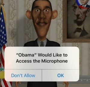 "Donald Trump, Obama, and Access: ""Obama"" Would Like to  Access the Microphone  OK  Don't Allow Donald Trump accuses Obama of wire tapping [AC 2017]"