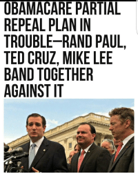 Based liberty squad. republican democrat libertarian conservative liberal GOP Trump NeverTrump prolife freedom liberty usa: OBAMACARE PARTIAL  REPEAL PLAN IN  TROUBLE-RAND PAUL  TED CRUZ, MIKE LEE  BAND TOGETHER  AGAINST IT  T PL  ANDER  PIN E  ENA H  RARMT  EARNET  CPEZG  ALLUOT  MABRTS  EUCDN  APODNA  BEREAG  ORTTBA Based liberty squad. republican democrat libertarian conservative liberal GOP Trump NeverTrump prolife freedom liberty usa
