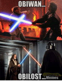 """Obipun   Posted by Jacob Shepard in """"Just Jedi Memes"""": OBIWAN  OBILOST.. Memes Obipun   Posted by Jacob Shepard in """"Just Jedi Memes"""""""