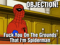 ~Lowkey: OBJECTION!  Fuck You On The Grounds  That I'm Spiderman ~Lowkey