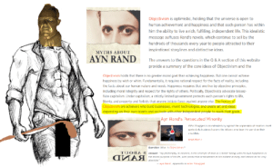 """Giving Yall The 911 on Objectivism: Objectivism is optimistic, holding that the universe is open to  human achievement and happiness and that each person has within  him the ability to live a rich, fulfilling, independent life. This idealistic  message suffuses Rand's novels, which continue to sell by the  hundreds of thousands every year to people attracted to their  inspirational storylines and distinctive ideas.  MYTHS ABOUT  AYN RAND  The answers to the questions in the Q & A section of this website  provide a summary of the core ideas of Objectivism and the  Objectivism holds that there is no greater moral goal than achieving happiness. But one cannot achieve  happiness by wish or whim. Fundamentally, it requires rational respect for the facts of reality, including  the facts about our human nature and needs. Happiness requires that one live by objective principles,  including moral integrity and respect for the rights of others. Politically, Objectivists advocate laissez-  faire capitalism. Under capitalism, a strictly limited government protects each person's rights to life,  liberty, and property and forbids that anyone initiate force against anyone else. The heroes of  Objectivism are achievers who build businesses, invent technologies, and create art and ideas,  depending on their own talents and on trade with other independent people to reach their goals.  Ayn Rand's Persecuted Minority  Aths Struggen is an extended cry ngrinst the onpression ot creators most  particularly business leacers: the Atlases wo bear tnis wor d cn their  S 1uuldens.  Rend Mere >  Guestlon: Wiha is Chjuclivism ?  TU08  A 2. Answar: """"My phlinsonhy in psence, is rhe concepr ot man as a herole being, wirn his own happiness as  the moral purmose of his lifea, with pontuctive achievement as his noblest activity, anơ reason as his only  ДИАЯ  absolute.""""  Ajn Rand, Annenr'y 10 Arlas Shrugged Giving Yall The 911 on Objectivism"""