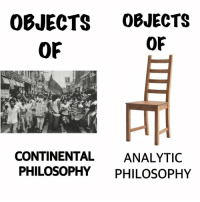 Satire, folks.: OBJECTS OBJECTS  OF  OF  CONTINENTAL  ANALYTIC  PHILOSOPHY  PHILOSOPHY Satire, folks.