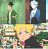 Memes, 🤖, and Eye: Oborutard  You found it?!  dry eye! boruto is a clown 😂