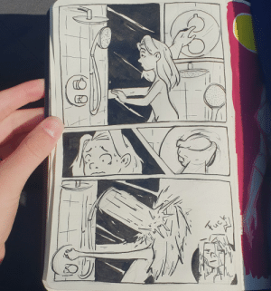 [OC] A one page comic about my fight last night: [OC] A one page comic about my fight last night
