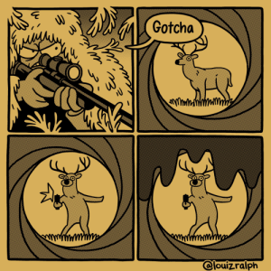 [OC] Double 0 deer: [OC] Double 0 deer