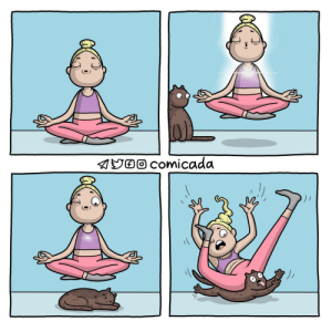 [OC] In your search for spiritual perfection, do not forget to ground yourself.: [OC] In your search for spiritual perfection, do not forget to ground yourself.