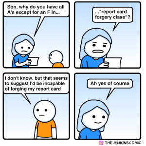 [OC] Report Card: [OC] Report Card