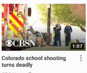 Facepalm, School, and Sorry: OCBSN  1:07  Colorado school shooting:  turns deadly Sorry about the smoll picture