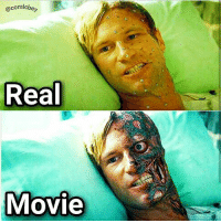 Memes, Movie, and 🤖: ocomicbey  Real  Movie Checkt the last one, which should u choose?