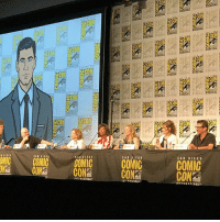 """Memes, Archer, and Comic Con: OCON  2C  OMIC GOMIC COMIC  00 CONS  SAN DIEGO  COMIC  COMIC  CON  NTERNATIONAL For the first time ever, Sterling Archer himself made it to Comic-Con. And he brought a """"disguise"""" so he could walk the convention floor. fxsdcc archerfxx"""