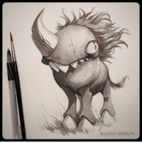 Deep in the valleys on the forgotten pastures roamed the last known unicorn...Bartley.🦄 ink unicorn endangeredspecies: OCREATUREBOX Deep in the valleys on the forgotten pastures roamed the last known unicorn...Bartley.🦄 ink unicorn endangeredspecies