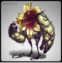Memes, Flowers, and Spring: OCREATUREBOX It was on the first warm spring day when Emerson made his first friend. spring flowers characterdesign bff