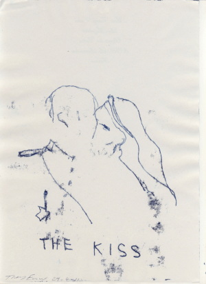 octopusgirl:  The kissTracey Emin, 2011: octopusgirl:  The kissTracey Emin, 2011
