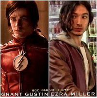 Lmao, Memes, and Marvel: ODC. MARVEL. UNITE  GRANT GUSTIN EZRA MILLER Who did it better ? 🤔⚡️ Scratch that, GrantGustin and EzraMiller are Long Haired Flash Bros…But can you tell which ones the wig ? 😂 Lmao, I've been posting so much about TheFlash today…you could call me Younis (@world_of_flash_) 😉 TheFlashSeason3 ⚡️ DCTV DCEU