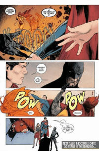 Date, Comics, and Flash: ODY  EVERYONE  DIES  AT  THE HANDS OF  DR. DOVBLE  VENGEANCE  UP AND  YOU  ALL WANT TO  GET A BITE TO  EAT  NEXT ISSUE: A DOUBL-DATE  8 YEARS IN THE MAKING This is why they are my favorite team up.   #GothamCityMemes   -Reverse Flash