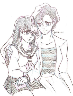 """echobows:  """"I won't ask what the problem is, but I have complete faith in whatever you decide. You're a strong young woman, Kagome, and I'm so proud of you.""""@keichanz @mmhinman new sketchbook ayyyyy o/the ever emotional scene with Kagome and her loving momma, Runako Higurashi: Oeehabows echobows:  """"I won't ask what the problem is, but I have complete faith in whatever you decide. You're a strong young woman, Kagome, and I'm so proud of you.""""@keichanz @mmhinman new sketchbook ayyyyy o/the ever emotional scene with Kagome and her loving momma, Runako Higurashi"""