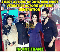 ❤ Aamir Khan & Shahid Kapoor ❤ credit - Kabir Born Shanatic Juneja  #Deadpool #TrollBollywood: OF 2016 AND MOST  VERSATILE ACTORS OF THEIR  GENERATION  BOLLYWOOD  NONE FRAME ❤ Aamir Khan & Shahid Kapoor ❤ credit - Kabir Born Shanatic Juneja  #Deadpool #TrollBollywood