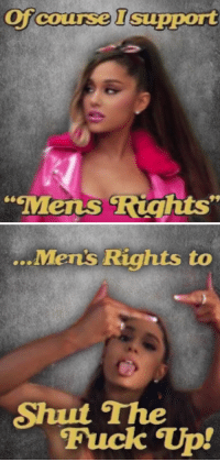 "Fuck, Mens Rights, and Cox: Of  course Isupport  COX  Mens Riahts""   ...  Mens Rights to  Shut The  Fuck Tp!"