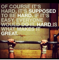 Memes, Yeah, and Crossfit: OF COURSE ITS  HARD, IT'S SUPPOSED  TO BE HARD. IF IT'S  EVERYONE  WOULD DO HARD IS  WHAT MAKES IT  GREAT ...... ........ Hell yeah ... 💥💥💥💥💥💥 FOLLOW US . ⬇️⬇️⬇️⬇️⬇️⬇️⬇️⬇️⬇️⬇️⬇️⬇️ 🔥🔥@bodybuilding_humour 🔥🔥 ⬆️⬆️⬆️⬆️⬆️⬆️⬆️⬆️⬆️⬆️⬆️⬆️ ... bodybuilding gymmemes crossfit strong motivation powerlifting quotes gymhumour deadlift squat bench gymhumour funny legday motivation girlswholift fitchick mma gymhumor gym gymmotivation gymproblems gymflow wwe