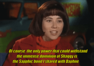 Tumblr, Best, and Blog: Of course. the only power that could withstand  the immense dominion of Shaggy is  the Sai]卩hic bond I shared With Daille pedestaltrooper: That's it. This is the best one. Everyone go home.