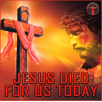 Today He died. Why do we call this date Good Friday then? We do it because despite all the evil occured on this day, the Son of God worked to fill this day with His goodness and save the world from its own sin and hatred. He alone did it all! He died on that cross, went through the pain of body and soul to make it possible for us to be saved and find the Lord. Remember what Jesus did for us, celebrate Good Friday with those who you love and share the God's grace with them! Bible sonofgod424 God Love Redeemed Saved Christian Christianity Pray Chosen jesus lord truth praying christ jesuschrist bible word godly angels cross faith inspiration jesussaves worship yahweh holyspirit praise spiritualwarfare: OF  JESUS DIED  FOR US TODAY Today He died. Why do we call this date Good Friday then? We do it because despite all the evil occured on this day, the Son of God worked to fill this day with His goodness and save the world from its own sin and hatred. He alone did it all! He died on that cross, went through the pain of body and soul to make it possible for us to be saved and find the Lord. Remember what Jesus did for us, celebrate Good Friday with those who you love and share the God's grace with them! Bible sonofgod424 God Love Redeemed Saved Christian Christianity Pray Chosen jesus lord truth praying christ jesuschrist bible word godly angels cross faith inspiration jesussaves worship yahweh holyspirit praise spiritualwarfare