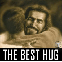 God, Jesus, and Life: OF  THE BEST HUG Those moments, when I feel the presence of our Father, are the happiest and sweetest in my life. I know he is always with me! Thank you, Jesus! Bible sonofgod424 God Love Redeemed Saved Christian Christianity Pray Chosen jesus lord truth praying christ jesuschrist bible word godly angels cross faith inspiration jesussaves worship yahweh holyspirit praise spiritualwarfare
