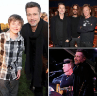 Brad Pitt is following suit with Kim Kardashian and returning to his normal life again in the middle of his divorce from Angelina Jolie. Brad resurfaced Saturday at the 4th annual Rock4EB! charity concert in Malibu, where Sting and Chris Cornell headlined, Zach Galifianakis emceed ... and tons of other celebs showed up to raise awareness for kids with the skin disease epidermolysis bullosa. READ MORE and SEE MORE at TMZ.com bradpitt sting chriscornell rock4eb tmz: ofAe  어머. Brad Pitt is following suit with Kim Kardashian and returning to his normal life again in the middle of his divorce from Angelina Jolie. Brad resurfaced Saturday at the 4th annual Rock4EB! charity concert in Malibu, where Sting and Chris Cornell headlined, Zach Galifianakis emceed ... and tons of other celebs showed up to raise awareness for kids with the skin disease epidermolysis bullosa. READ MORE and SEE MORE at TMZ.com bradpitt sting chriscornell rock4eb tmz