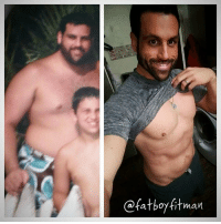 BIG difference! (Pun intended)  A few of the key differences: 1) Mindful nutrition vs Mindless eating 2) Consistent physical activity vs Sedentary lifestyle  3) Loving and caring for myself vs self loathing 4) Belief in that it CAN be done vs I can't EVER do it: ofatboyfitman BIG difference! (Pun intended)  A few of the key differences: 1) Mindful nutrition vs Mindless eating 2) Consistent physical activity vs Sedentary lifestyle  3) Loving and caring for myself vs self loathing 4) Belief in that it CAN be done vs I can't EVER do it