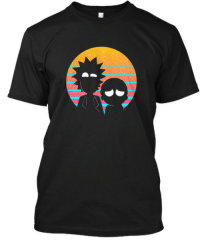 Rick and Morty, Tumblr, and Blog: ofcoursethatsathing:[this Rick and Morty tshirt]