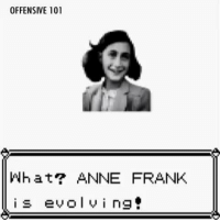 Anne Frank: OFFENSIVE 101  What ANNE FRANK  is evol vi ng