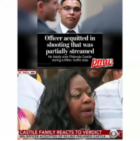 PhilandoCastile's mother spoke after the verdict. The officer who shot and killed unarmed PhilandoCastile will serve no time for his actions. @pmwhiphop @pmwhiphop @pmwhiphop @pmwhiphop @pmwhiphop @pmwhiphop: Officer acquitted in  shooting that was  partially streamed  He fatally shot Philando Castile  during a Minn. traffic stop  HIPHOP  ST PAUL MN  CASTILE FAMILY REACTS TO VERDICT  MN OFFICER ACQUITTED OF KILLING PHILANDO CASTILE PhilandoCastile's mother spoke after the verdict. The officer who shot and killed unarmed PhilandoCastile will serve no time for his actions. @pmwhiphop @pmwhiphop @pmwhiphop @pmwhiphop @pmwhiphop @pmwhiphop