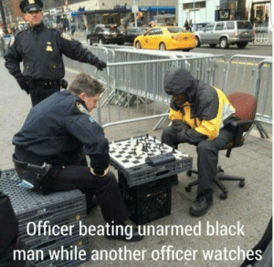 Memes, Police, and Black: Officer beating unarmed black  man while another officer watches Police officers are so disgusting… via /r/memes https://ift.tt/2JPGnsw