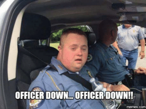 Protect and serve by iliketurtles52403 MORE MEMES: OFFICER DOWN..OFFICER DOWN!!  PLICE  memes.com Protect and serve by iliketurtles52403 MORE MEMES