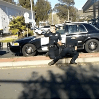 Memes, 🤖, and Sat: Officers in Vallejo California abusing a citizen after he sat on the curb to be detained Pt.2! 😳😩😞@Dirty_Glove_Bastard WSHH