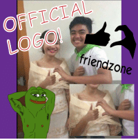 Oh snap! Get your Friendzone Logo's for the future.. Send me lots of small friends.: OFFICIAL  friend zone Oh snap! Get your Friendzone Logo's for the future.. Send me lots of small friends.