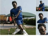 OFFICIAL: Michael Essien becomes the next footballer to be immortalised into a dodgy statue. 😂🤣 https://t.co/LHQLSOlIVd: OFFICIAL: Michael Essien becomes the next footballer to be immortalised into a dodgy statue. 😂🤣 https://t.co/LHQLSOlIVd
