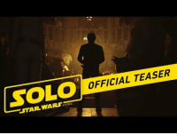 Bad, Star, and Got: OFFICIAL TEASER  STAR WAR <p>In the words of Solo himself: I've got a bad feeling about this.</p>
