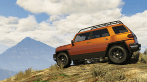 Offroading in my Karin BeeJay XL. Yes, it's frequently seen roaming Los Santos, but I love the style and has great off-road capability: Offroading in my Karin BeeJay XL. Yes, it's frequently seen roaming Los Santos, but I love the style and has great off-road capability