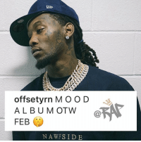 Offset album is dropping next month‼️ Need it or keep it⁉️ 📸 @brandondull: offsetyrn MOO D  ALBU M OTW  FEB  NAWFS IDE Offset album is dropping next month‼️ Need it or keep it⁉️ 📸 @brandondull