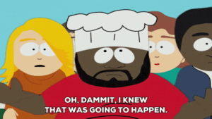 I felt like shit all afternoon after giving blood, which never happened to me before. MRW I get home and realize my period started today too: OH, DAMMIT, I KNEW  THAT WAS GOING TO HAPPEN I felt like shit all afternoon after giving blood, which never happened to me before. MRW I get home and realize my period started today too