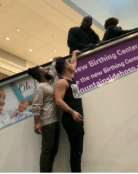 9gag, Fail, and Memes: Oh  ew Birthing Center  the new Birthing Cente Whoops! It didn't end well By @cobypersin w- @danieljean56 & @princezee - escalator fail 9gag