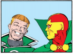 Oh Guy Gardner, you card: Oh Guy Gardner, you card