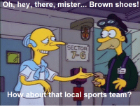 """Memes, Shoes, and Sports: Oh, hey, there, mister... Brown shoes!  SECTOR  How about that local sports team? """"Blood Feud""""  (S2E22)"""