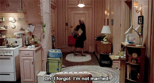 Married, Forgot, and Not: Oh I forgot. I'm not married